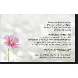 Carte de Remerciements - PAY5