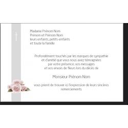 Carte de Remerciements - SR3