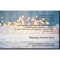Carte de Remerciements - PP4